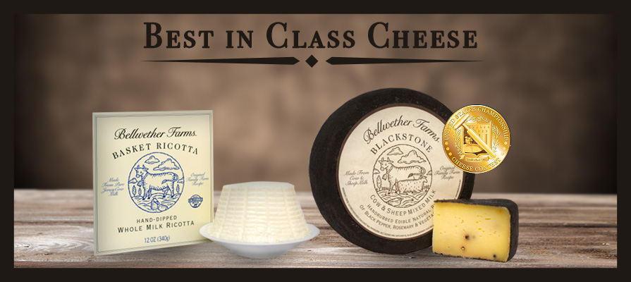 Bellwether Farms Takes Home Best in Class Honors at U.S. Championship Cheese Contest 2017