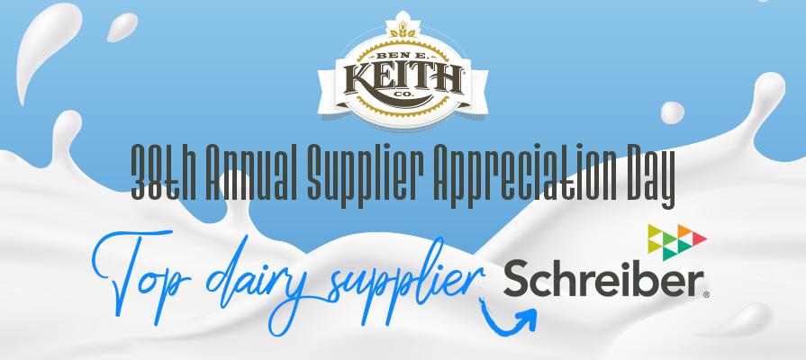 Ben E. Keith Foods Names Top Suppliers