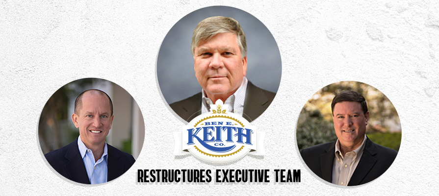 Ben E. Keith Foods Announces Changes to Executive Team, SVP Andy McCaskill Retires