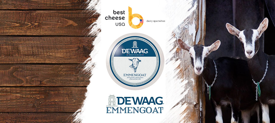 Best Cheese USA Introduces DeWaag® Emmengoat™ to North American Consumers