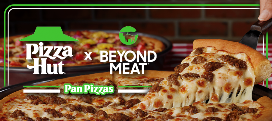Beyond Meat® Partners With Pizza Hut To Become First National Pizza Company To Offer A Plant-Based Meat Pizza Coast-To-Coast