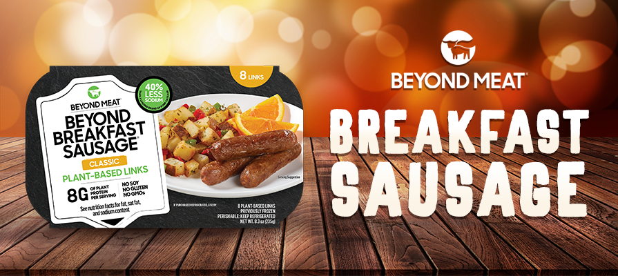 Beyond Meat® Introduces Latest Product Innovation Beyond Breakfast Sausage® Links