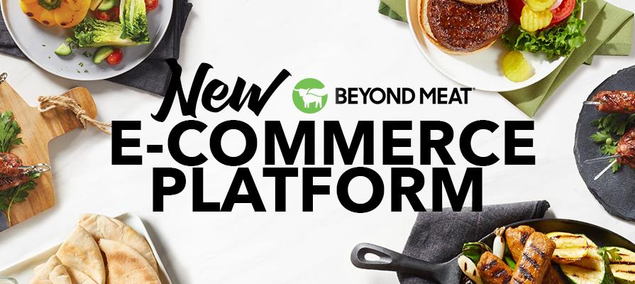 Beyond Meat Introduces New E-Commerce Platform