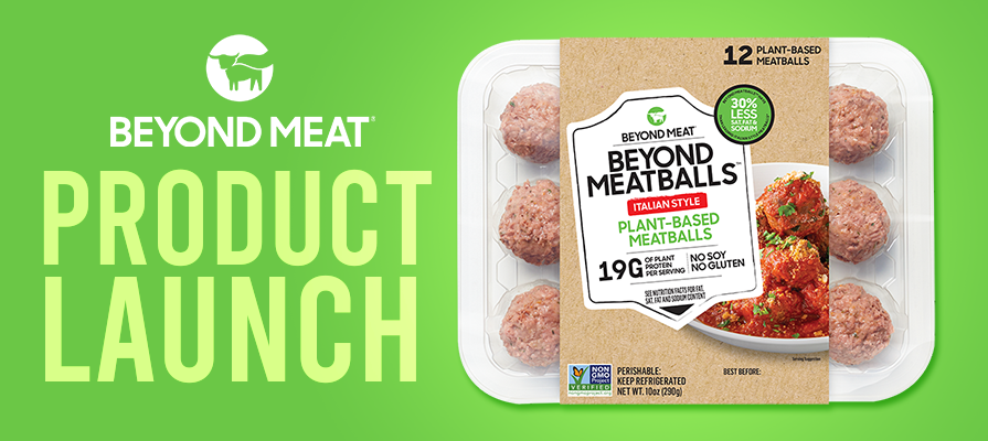 Beyond Meat® Introduces Beyond Meatballs™ to Its Plant-Based Lineup