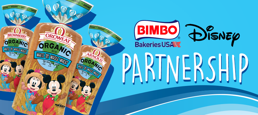 Bimbo Bakeries Brands Partner with Disney to Debut New Organic Line