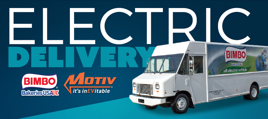 Motiv Power Systems Receives Follow-Up Order for Electric Delivery Trucks From Bimbo Bakeries USA After Successful Pilot