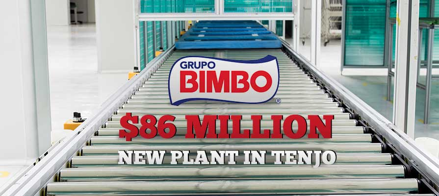 Grupo Bimbo Announces a New $86M Bread Facility