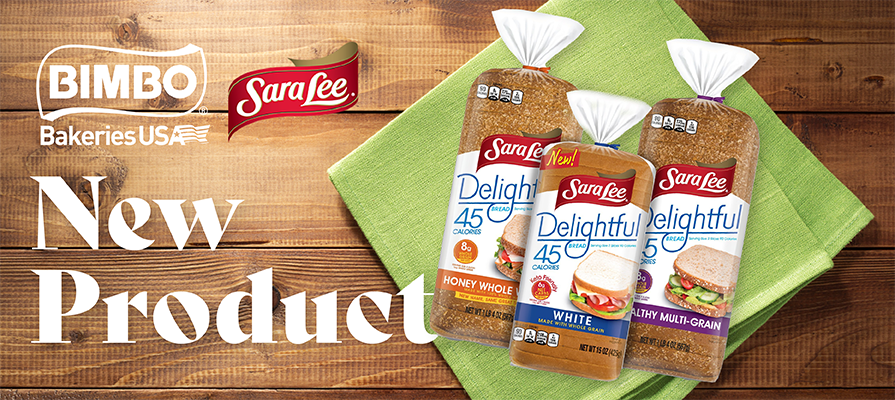 Sara Lee® Introduces New Delightful® White Made With Whole Grain Bread