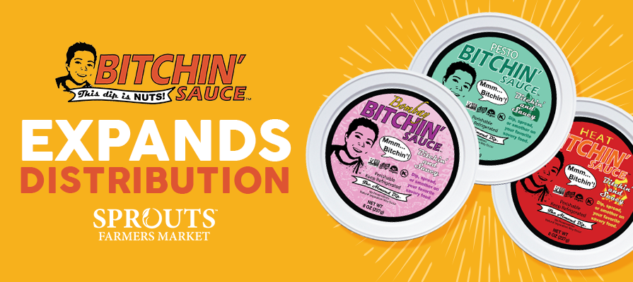 Bitchin' Sauce Launches at Sprouts Farmers Market Stores Nationwide