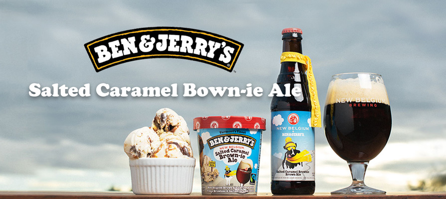 Ben & Jerry's to Debut Salted Caramel Brown-ie Ale Ice Cream