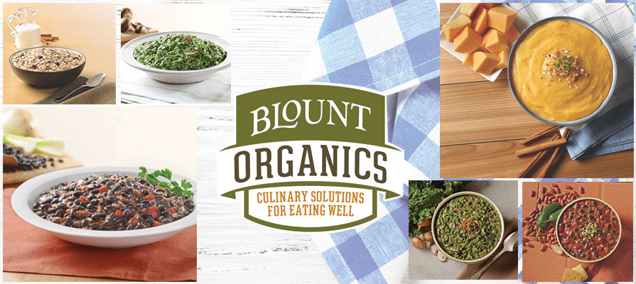 Blount Introduces New Organic Foodservice Sides