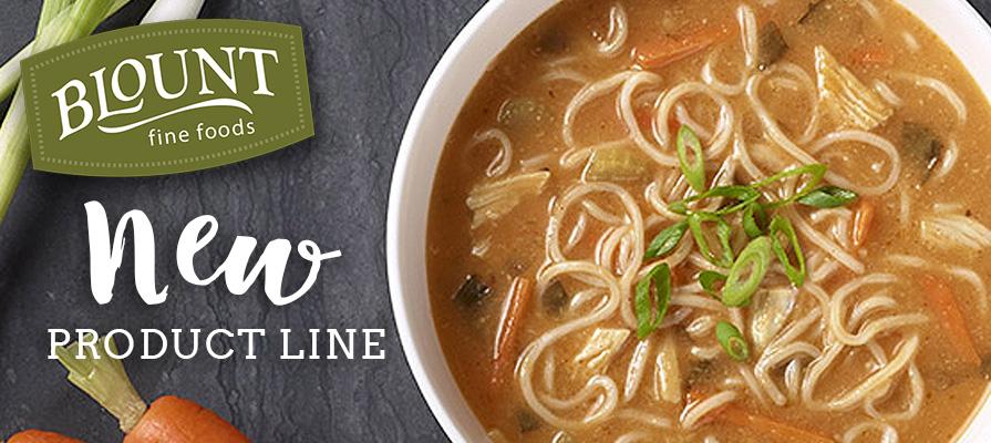 Blount Fine Foods Launches Line Of Premium Noodle & Rice Bowls