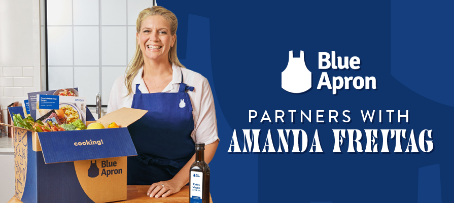 Blue Apron Partners With Amanda Freitag for Its New Fall Lineup
