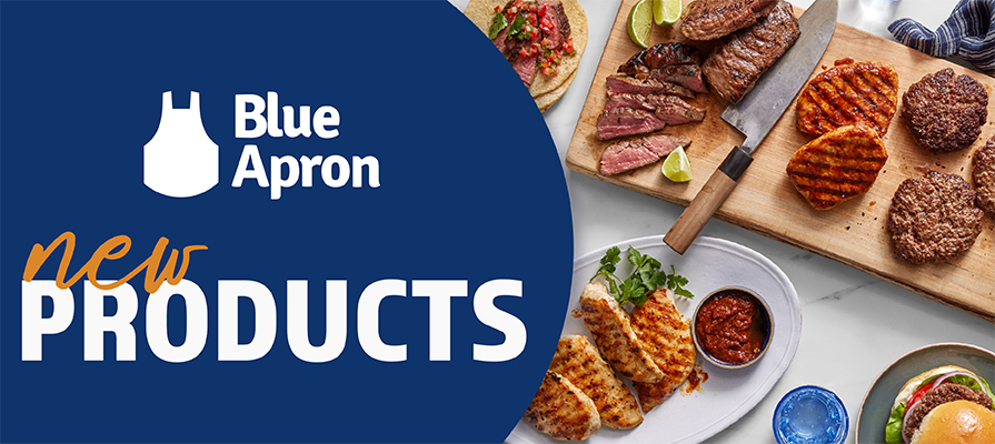 Blue Apron Adds Variety and Flexibility to Menu With Three New Products