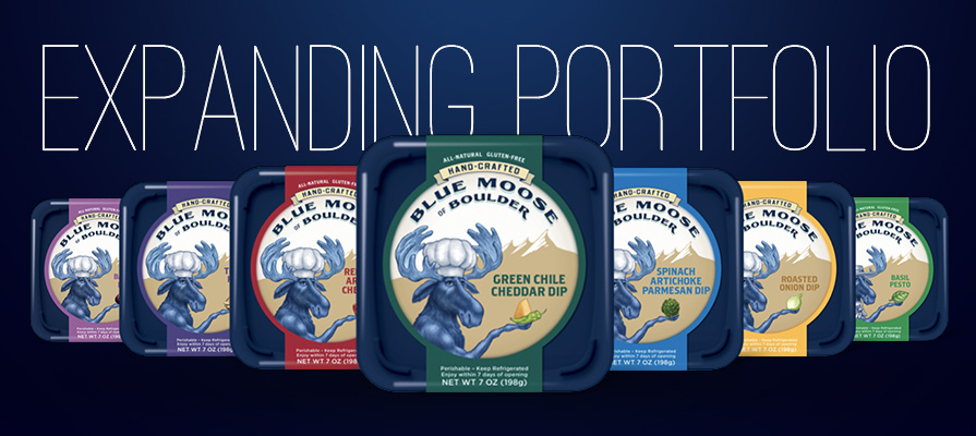 Blue Moose Expands Unique Artisanal Cheese Dips and Pesto into Full Portfolio