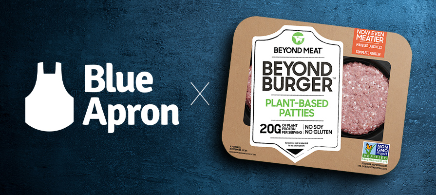 Blue Apron Experiences Stock Surge After Partnering with Beyond Meat