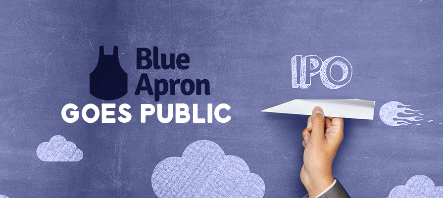 Blue Apron Files for $100 Million Initial Public Offering