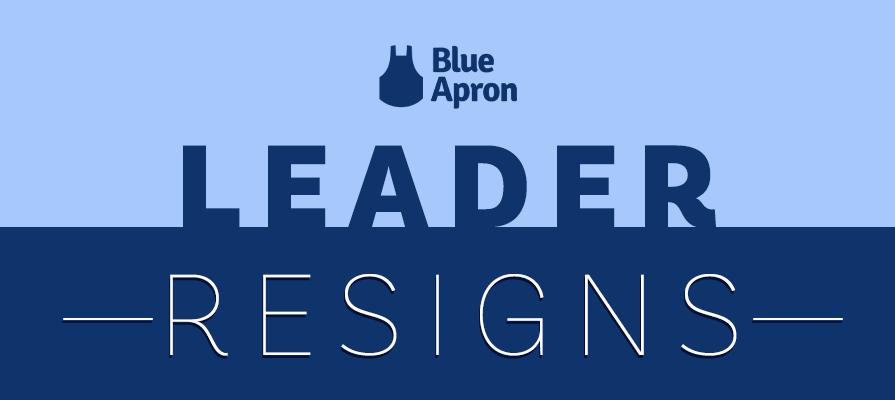 Blue Apron Announces Co-Founder Matthew Salzberg's Resignation From Board