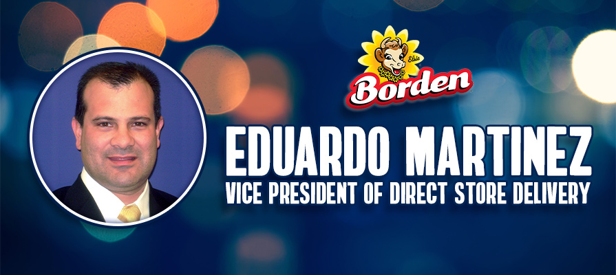Borden Appoints Eduardo Martinez as Vice President of Direct Store Delivery