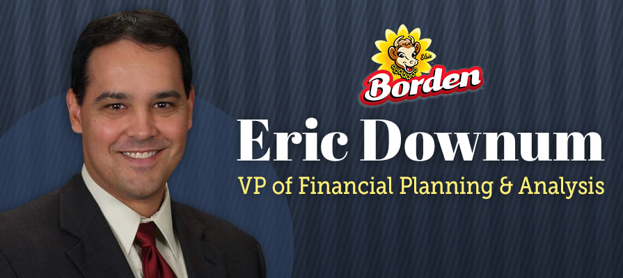 Borden Promotes Eric Downum to Vice President of Financial Planning & Analysis