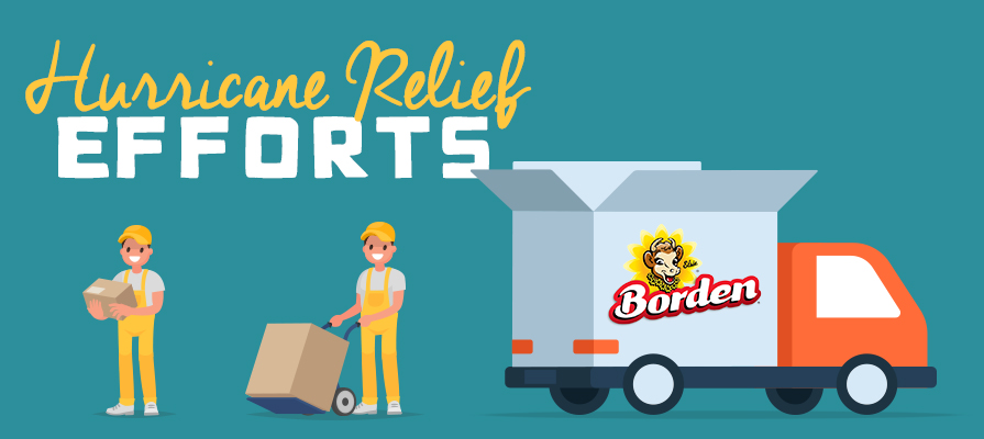 Borden Delivers Three Trucks with 177,260 Beverage Servings for Hurricane Michael Victims and First Responders