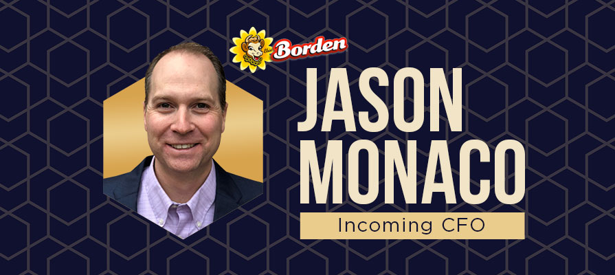 Borden Appoints Jason Monaco as Chief Financial Officer