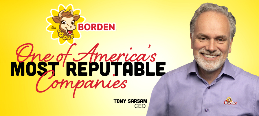 Borden Ranks No. 16 on Forbes List of America's Most Reputable Companies