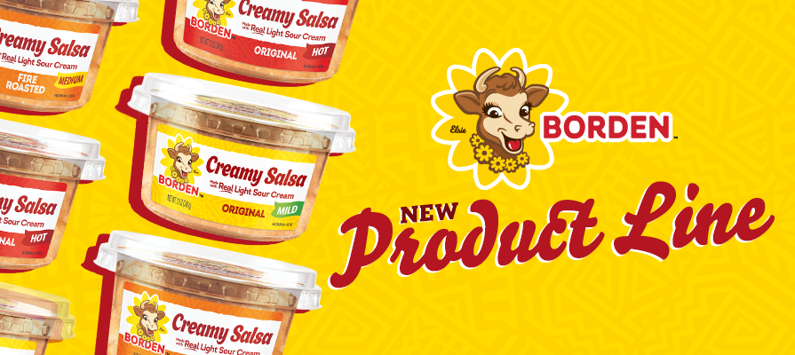 Borden Dairy Heats Up the Dairy Section With New Creamy Salsa