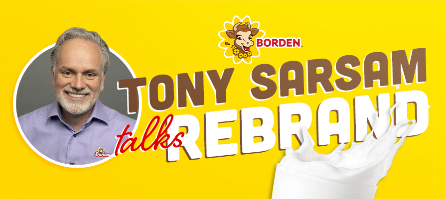 Tony Sarsam Discusses Borden Dairy Refresh