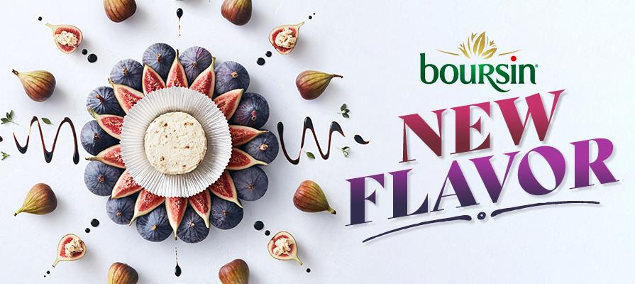 Boursin® Launches New Seasonal Fig & Balsamic Cheese