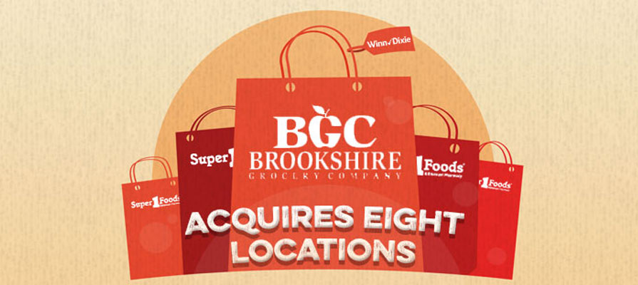 Brookshire Grocery Company to Acquire Eight Winn-Dixie Locations