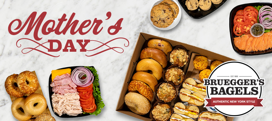 Bruegger's Bagels Celebrates Moms All Month Long With 'Momumental May'