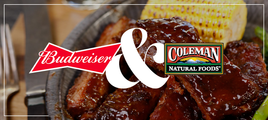 Budweiser and Coleman Partner for New Natural Meat Line