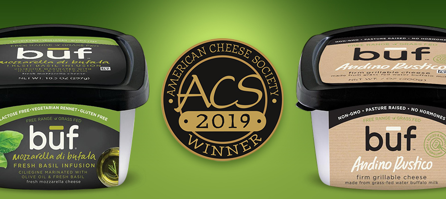 Būf Creamery Reflects on ACS Success for Newest Creations; Marks Milestone for World Cheese Awards