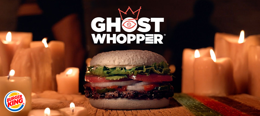 Burger King's Unveils Halloween Ghost Whopper