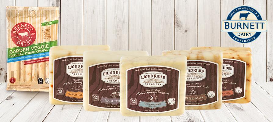 Burnett Dairy Cooperative Reveals New Cheese Flavors