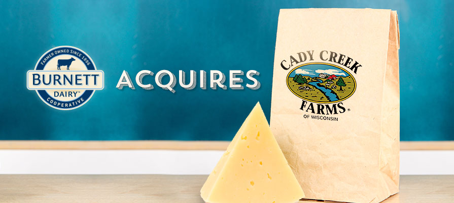 Burnett Dairy Cooperative Acquires Cady Creek Farms