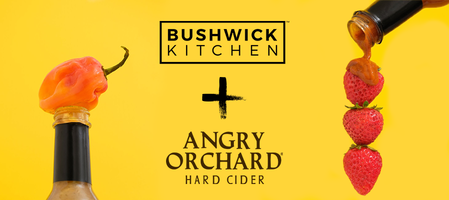 Bushwick Kitchen Partners With Angry Orchard Hard Cider to Create Three New Sizzling Hot Sauces; Daniel Doll and Ryan Burk Comment