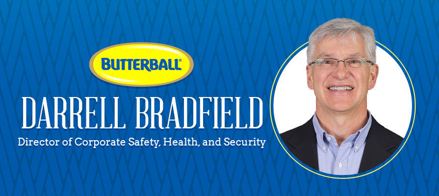 Butterball Announces the Addition of Darrell Bradfield to Its Risk Management Team