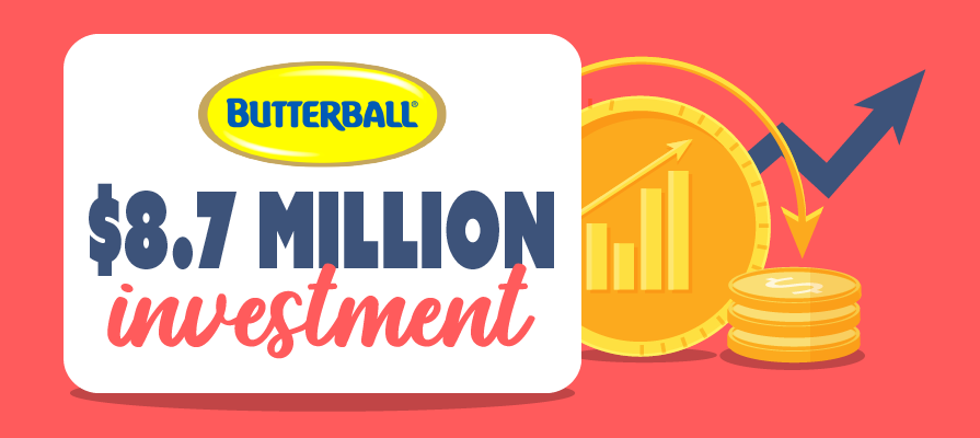 Butterball Invests $8.7 Million in Two Arkansas Processing Facilities