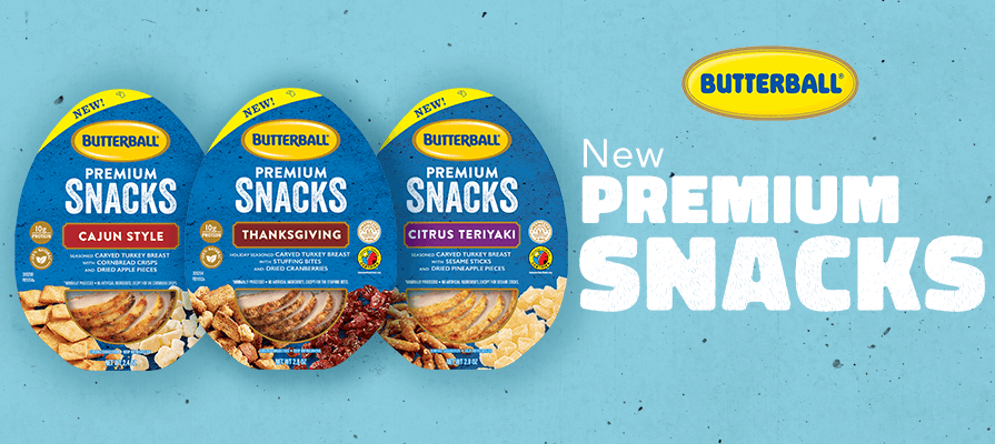 Butterball Debuts New Premium Snacking Line
