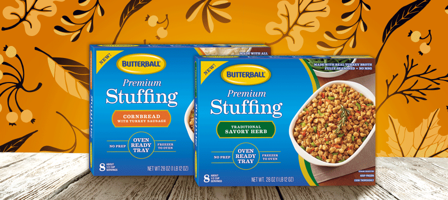 Butterball Launches Limited Edition Premium Oven-Ready Stuffing