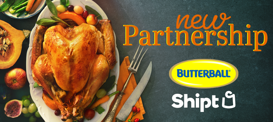 Butterball Partners With Shipt for Thanksgiving Promotion