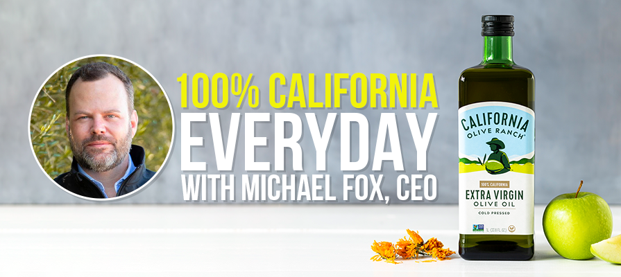 California Olive Ranch Introduces New 100 Percent California Everyday Labels