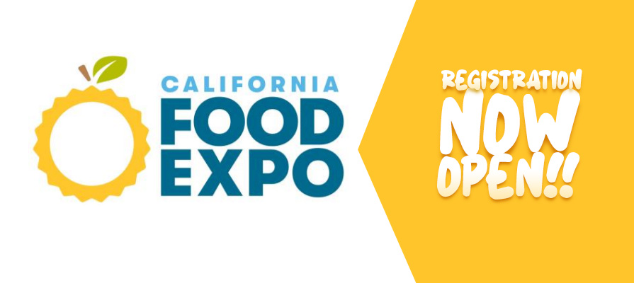 New California Food Expo Open for Registration