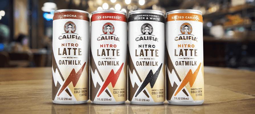 Califia Farms Debuts Line of Nitro Draft Lattes