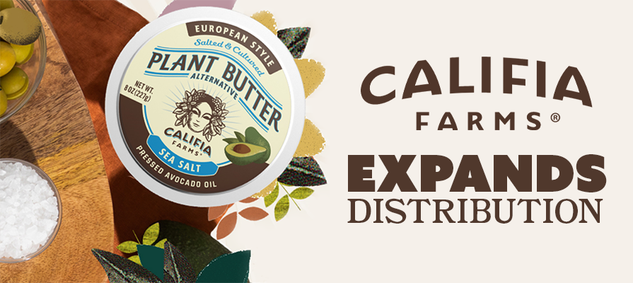 Califia Farms® Expands Distribution Of New Plant Butters