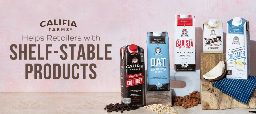 Califia Farms Helps Retailers Thanks to Its Shelf-Stable Product Line