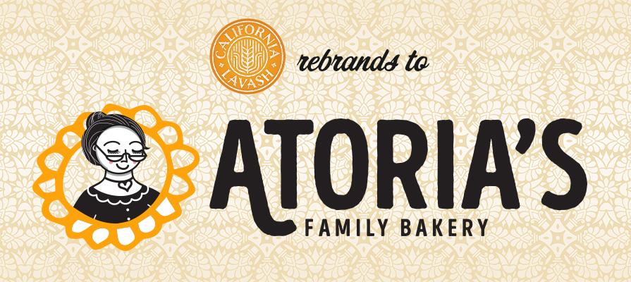 California Lavash Rebrands to Atoria's Family Bakery