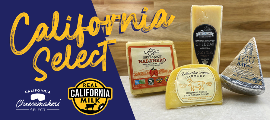 California Cheesemakers' Select Cheese Box Debuts in Support of California Artisan Cheesemakers